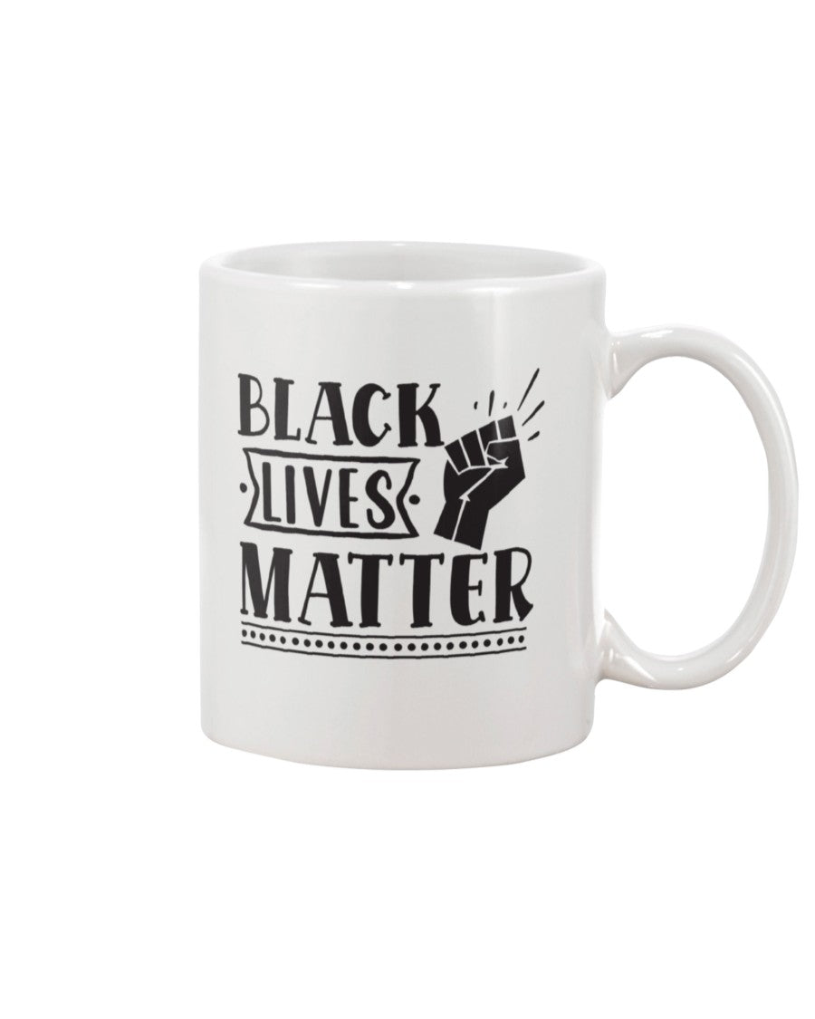 11oz Mug - Black lives matter