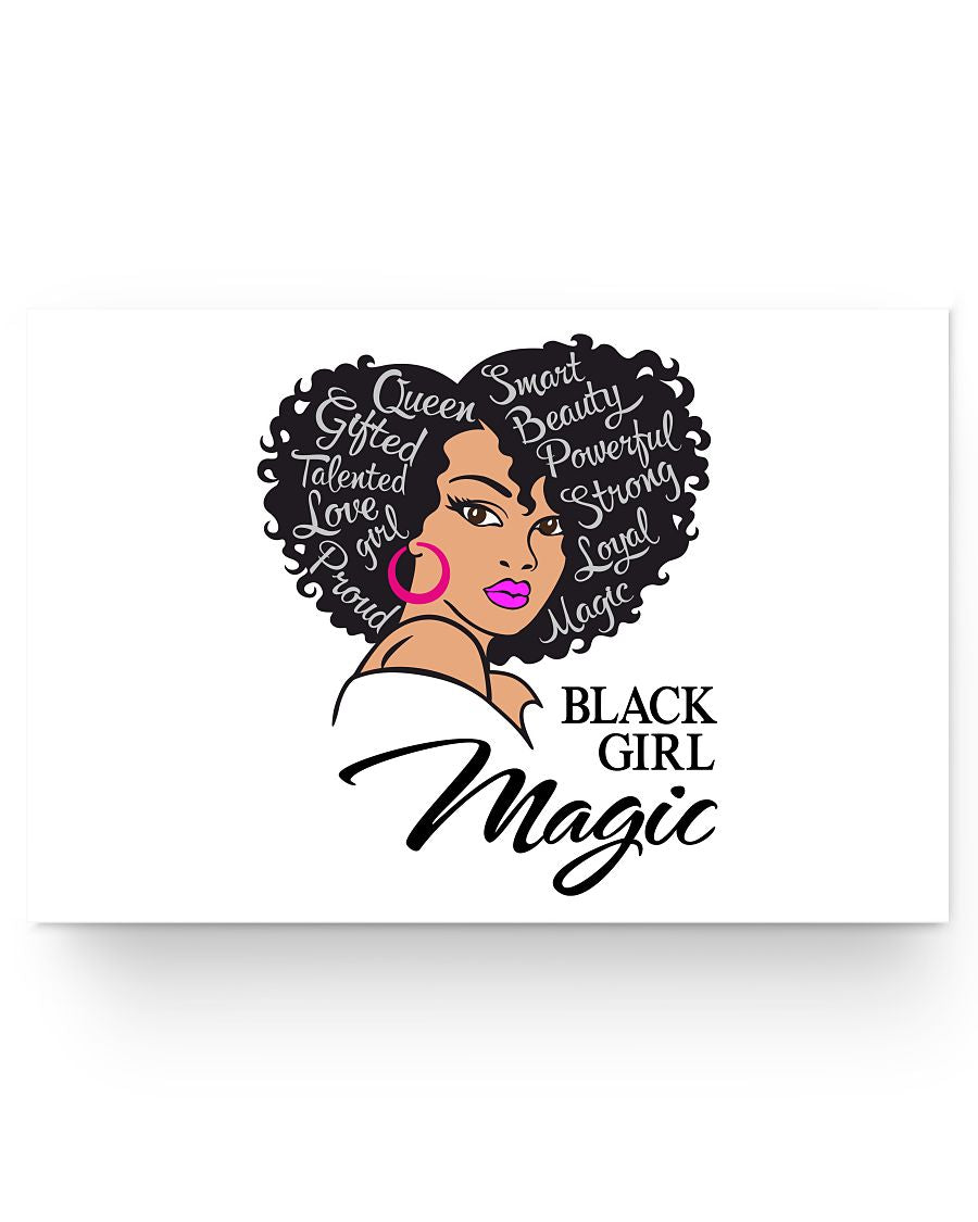 24x16 Poster - Black girl magic