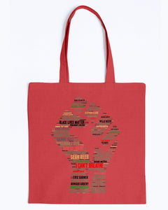 Canvas Tote - Black lives matter names