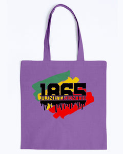 Canvas Tote - 1865 Juneteenth