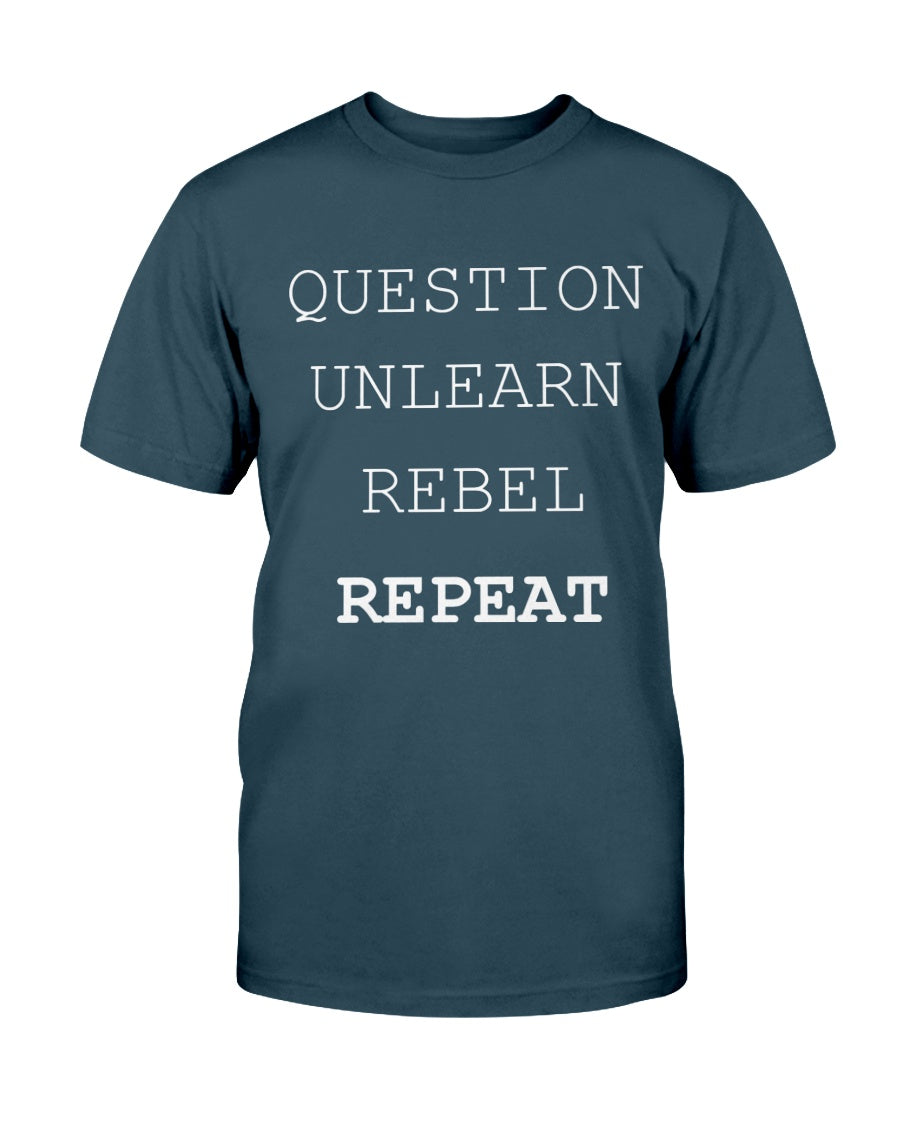 3001c - Question, unlearn, rebel, repeat