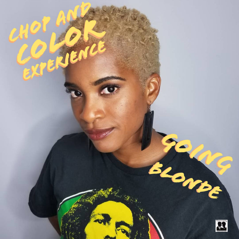 Natural Hair Salon: A Chop and Color Experience