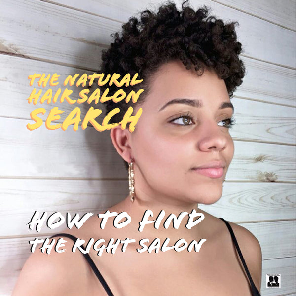 Natural Hair Salon Search: How to Find the Right Salon
