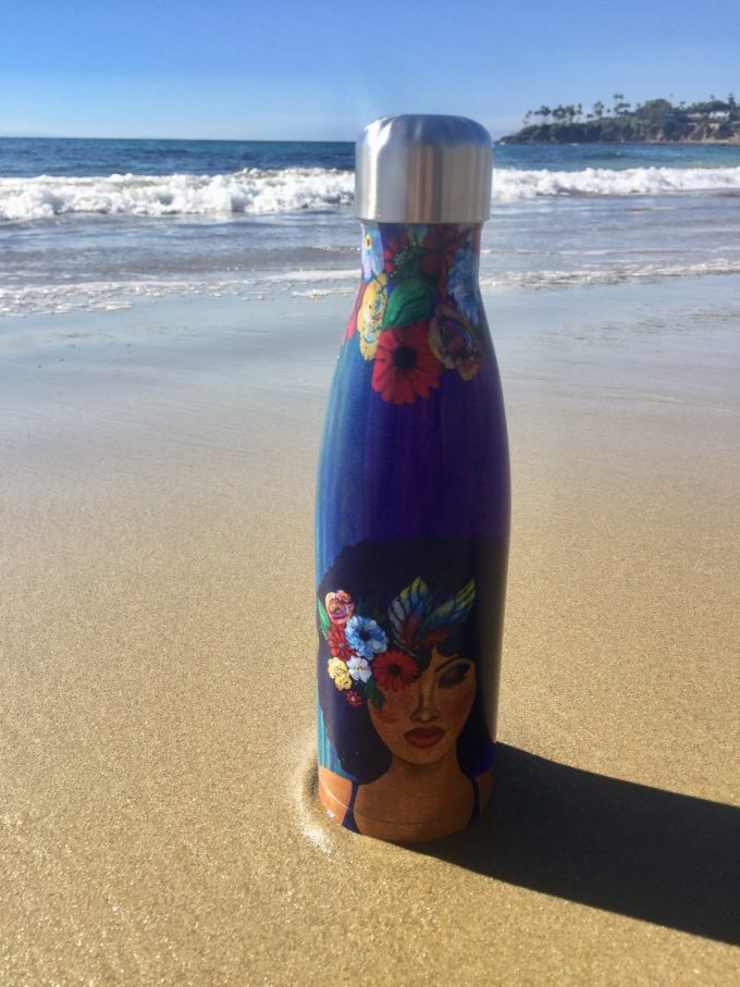 Believe Blossom and Become Stainless Steel Bottle