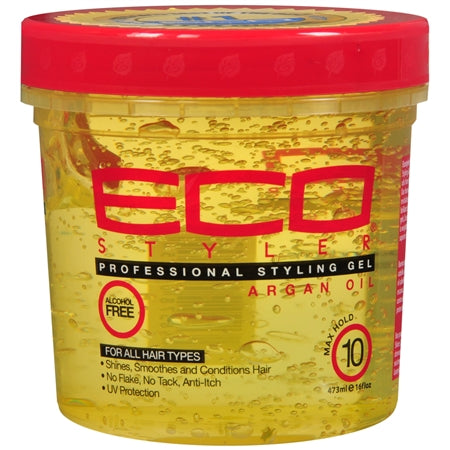 Eco Style  Professional Styling Gel with Argan Oil 8 oz