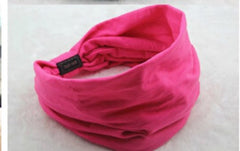 Turban Twist Wide Elastic Headband