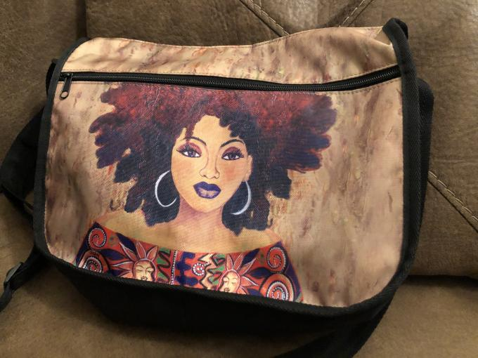 I AM MARVELOUSLY MADE CROSSBODY BAG