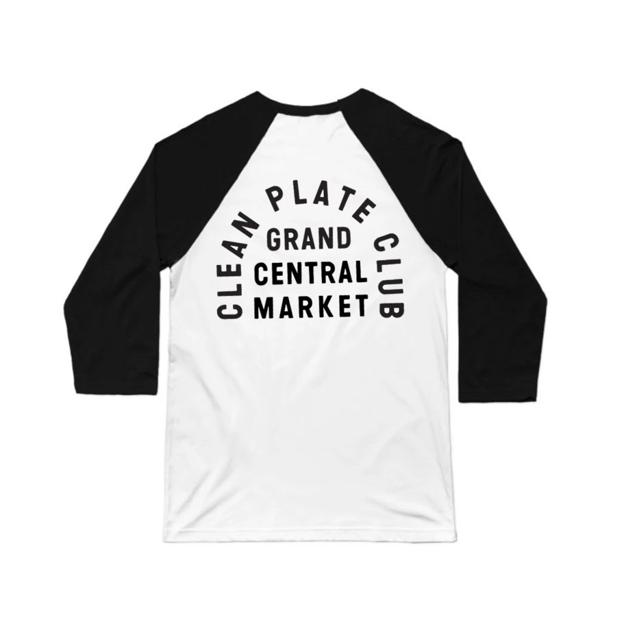 Clean Plate Club Baseball Tee (Adult)