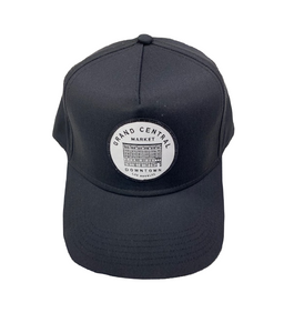 GCM Polo Cap with Embroidered Patch - Black