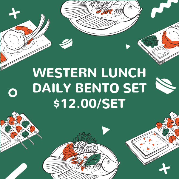 Western Lunch Festive Bento Set