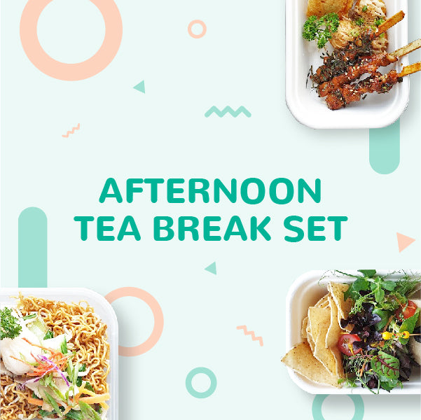 Afternoon Tea Break Set 31 March