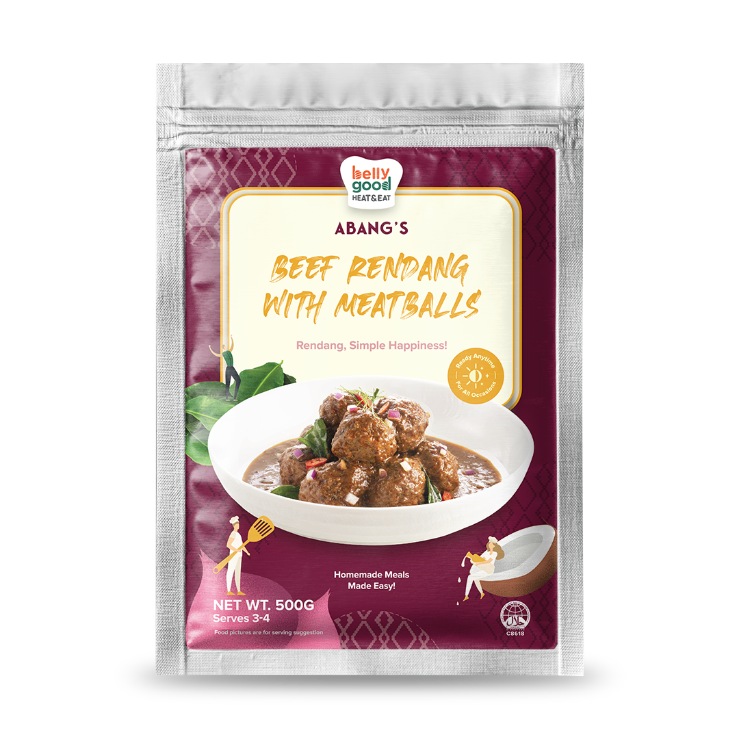 Beef Rendang with Meatballs