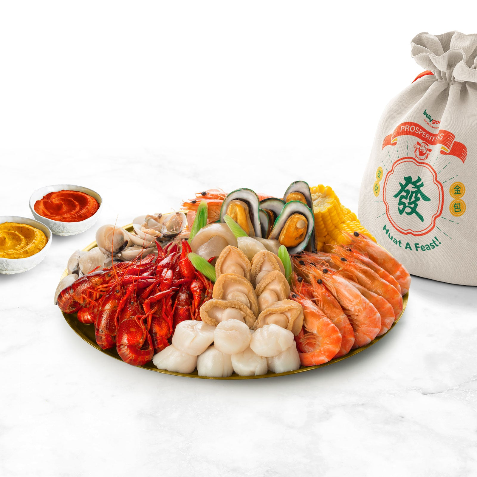 BellyGood 'Huat a Feast' Seafood Prosperity Bag
