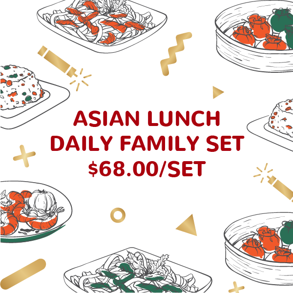 Asian Lunch Festive Family Set