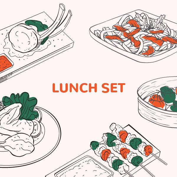 Asian Lunch Family Set 13 December