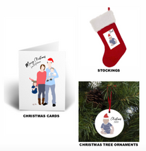 Load image into Gallery viewer, Christmas Cards- Custom Digital Print