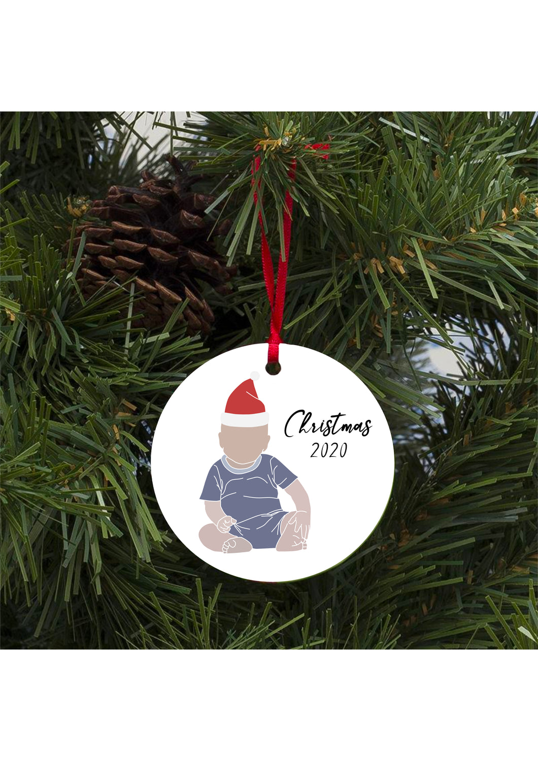 Christmas Decoration- Custom Digital Print