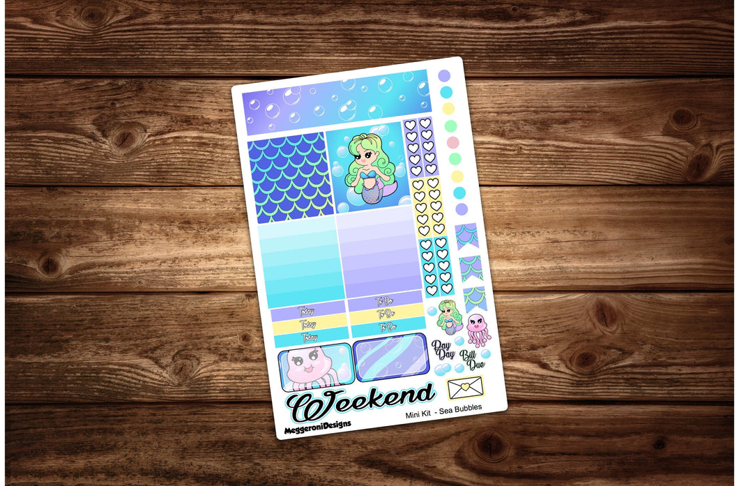 Sea Bubbles Mermaid Mini Weekly Kit