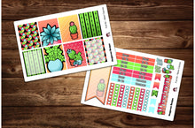 Load image into Gallery viewer, Neon Cactus Full Weekly Kit & Individual Sheets