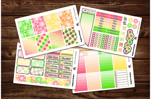 Citrus Squeeze Full Weekly Kit & Individual Sheets