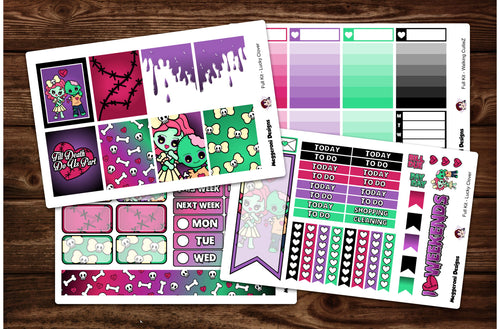 Walking CutieZ Full Weekly Kit & Individual Sheets