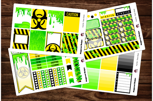 Toxic Ooze Full Weekly Kit & Individual Sheets