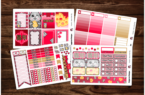 Year of the Rat Lunar New Year Full Kit