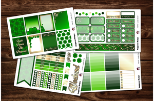 Lucky Clover Full Weekly Kit & Individual Sheets