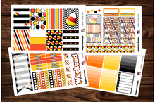 Load image into Gallery viewer, Candy Corn Halloween Full Weekly Kit & Individual Sheets