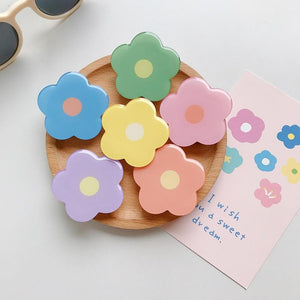 Glossy Flowers Mobile Pop Phone Holder - 6 Flowers included