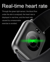 Load image into Gallery viewer, Real time heart rate, body stats tracking - Smartwatch