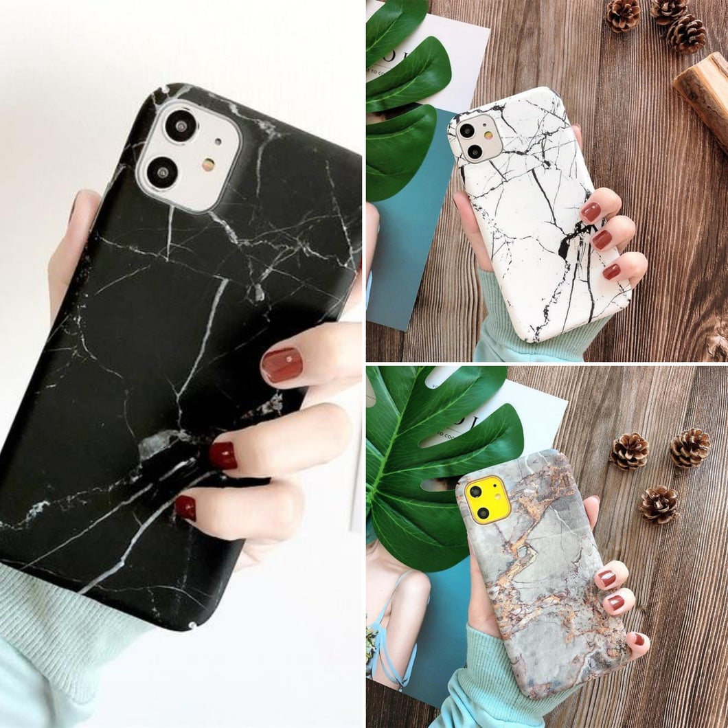 Marble iPhone Case Bundle - 3 Phone Cases Included