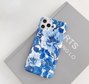 Glossy Flowers iPhone Case