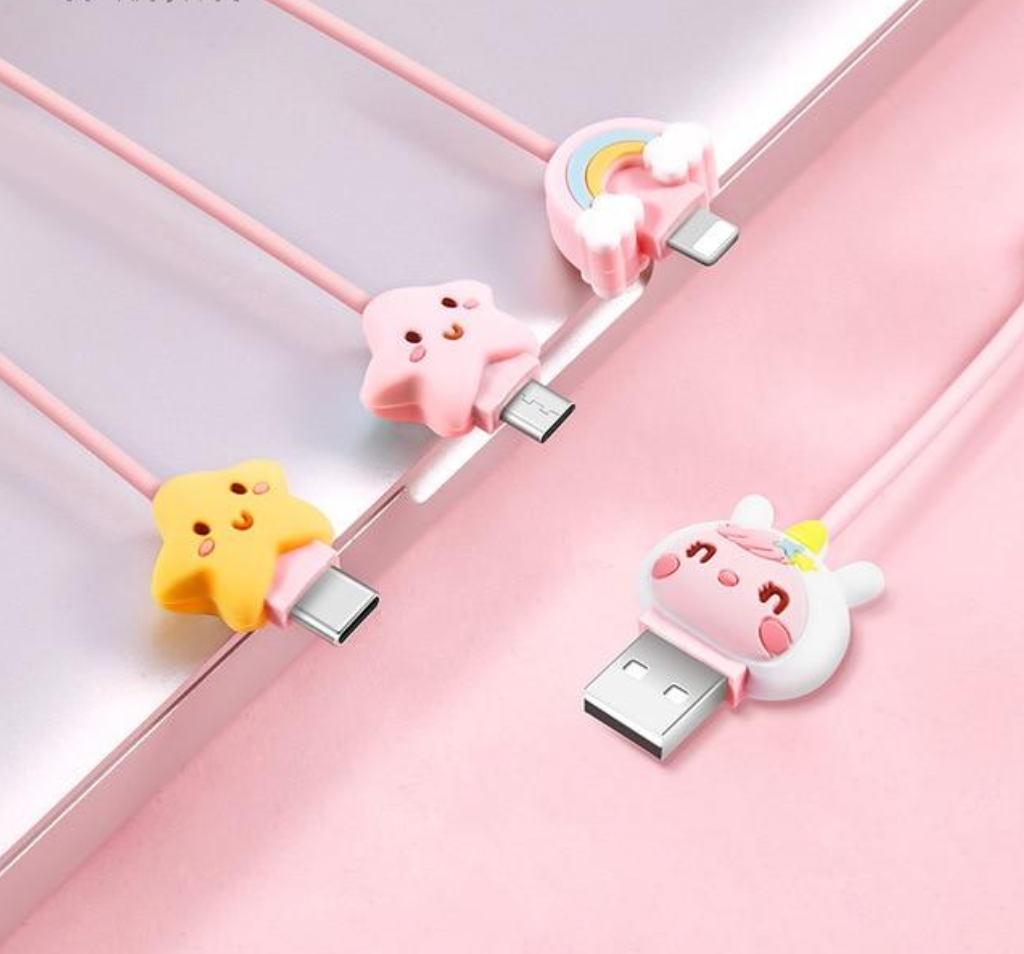 3 in 1 Cute USB Cable