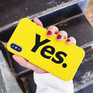 Lovely Letter iPhone Case