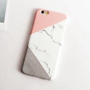 Hard Marble iPhone Case