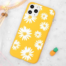 Load image into Gallery viewer, White sunflower iPhone Case