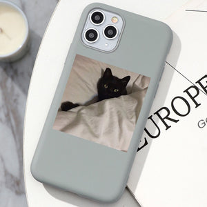 Mean Cat iPhone Case