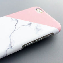 Load image into Gallery viewer, Hard Marble iPhone Case