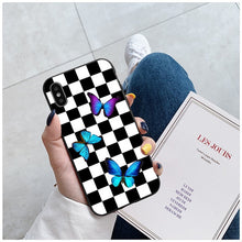 Load image into Gallery viewer, Checkerboard iPhone Case