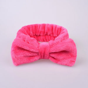 Soft Carol Fleece Hairlace Headband