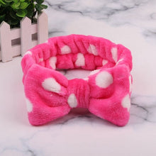Load image into Gallery viewer, Soft Carol Fleece Hairlace Headband