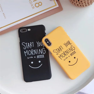 Morning Smile iPhone Case