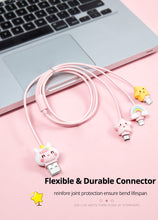 Load image into Gallery viewer, 3 in 1 Cute USB Cable