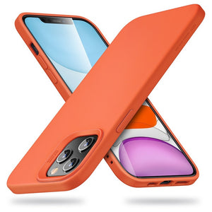 LUXE iPhone 12 Case - Orange