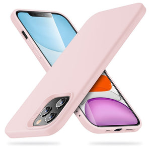 LUXE iPhone 12 Case - Baby Pink
