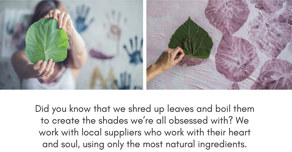 Isabelle Moon is a sustainable yoga clothing brand which uses natural fibers and dyes for its designs.