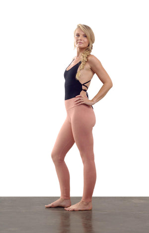 Wild Jasmine Leggings - Rose Moon