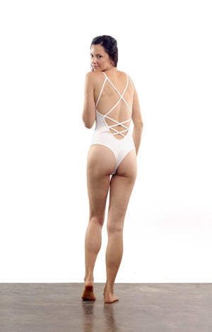 Cloudless Bodysuit - Pearl Mist - Isabelle Moon