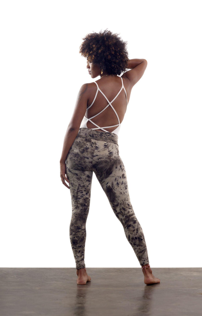 Wild Jasmine Leggings - Cinnamon Smoke